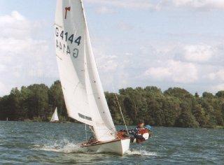 Pirat GER-4144 bei 6 Windstärken